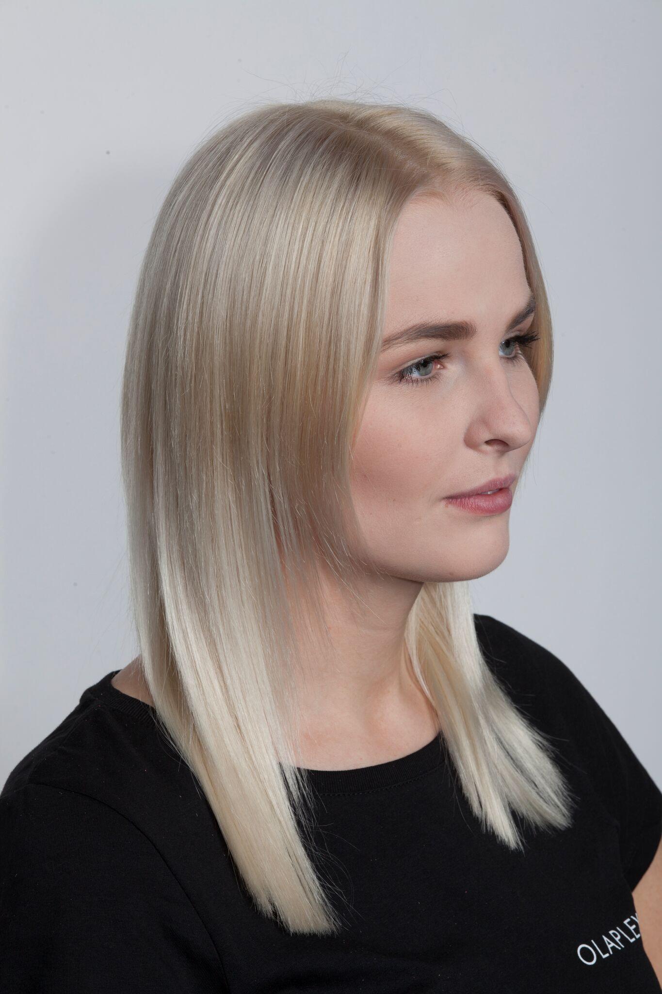 Kosten olaplex blondieren haare mit Haare Schneiden