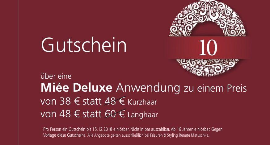 10. Dezember – Gutschein – miee Deluxe